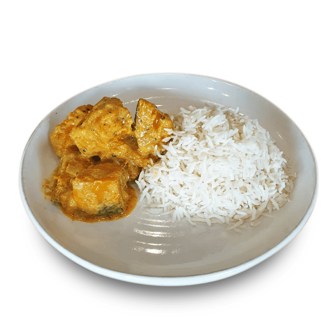 Pumpkin Curry with Rice